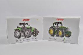 Wiking 1/32 Deutz Agrotron Ttv Tractor Plus John Deere