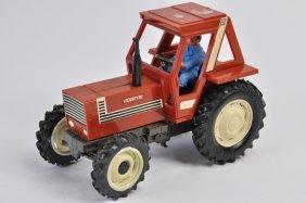 Original Britains 1/32 Hesston Fiat Tractor. Vg.