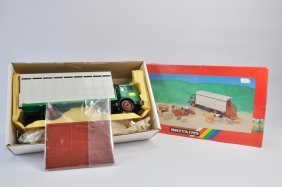 Rare Britains 1/32 Animal Transporter Gift Set. E To Nm