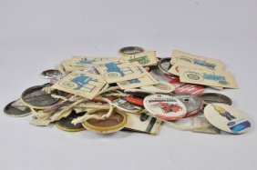 Large Selection Of Agricultural Themed Badges. Various