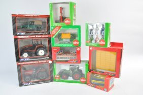 Ertl, Siku And Britains Farm Group Including Tractor