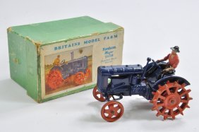 Britains 1/32 Fordson E27n Tractor With Metal Wheels. G