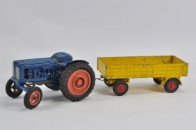 Empire Made Fordson Major Tractor With Scarce Yellow
