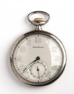 Jager Le Coultre Pocket Watch, 1930-1940