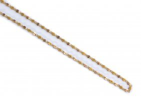12k Gold Padlocks Chain