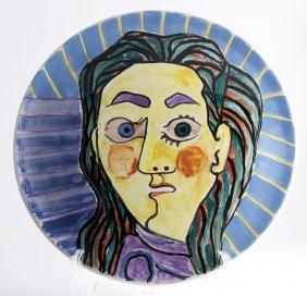 Pablo Picasso - Male Face, 1953