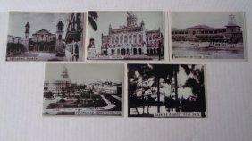 Lot Of 5 Cuba Photos Images Before Castro's Revolution