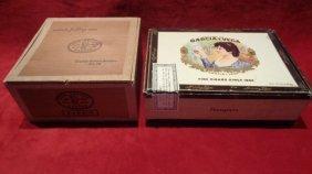 Lot Of 2 Vintage Cigar Box