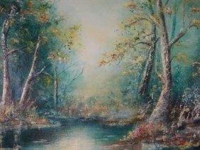 Signed Sophia Arendas 79 Florida Landscape Original
