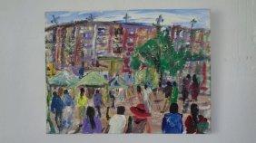 Robert Sundholm(1941 Ame-ny)impressionism New York
