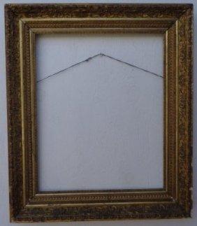 American Antique Lemon Gold Picture Frame