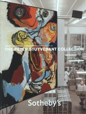 Sotheby's The Bat Artventure Collection-peter Stuyvesan