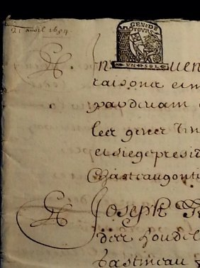 1684 - 36 Pages Antique French Document