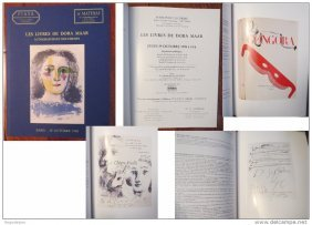 "Dora Maar""picasso""book-documents-autographs Piasa Paris"