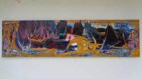 Robert Kelly- Venezuelan Original Acrylic On Canvas