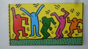 Contemporary Art- Keith Haring- New York Painting