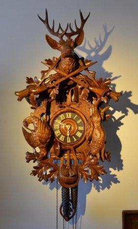 Original Black Forest Cuckoo Clock, With Double Door
