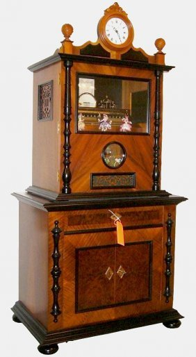 Reuge Station Music Box, Cartel Sr4/144
