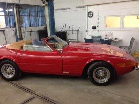 Replica Of The Famous Miami Vice Sports Car 365/4 Gtb