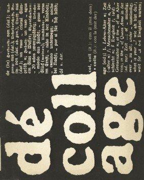 D�collage: No. 3, Dezember 1962