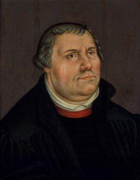 Cranach D. J., Lucas - Nachfolge: Bildnis Martin