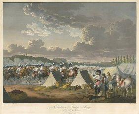 Das Einr�cken Der Garde Du Corps: Ins Lager Bei Po