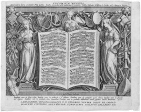 Collaert, Adriaen : Encomium Musices - Das Loblie