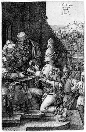D�rer, Albrecht: Pilatus W�scht Sich Die H�nde
