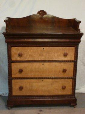 1830's American Drawer Chest Hidden Drawer
