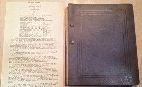 """Rko Movie Screen Script """"little Women"""" 1934"""