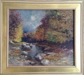 Naomi Duckman Lorne Painting , Forest Stream