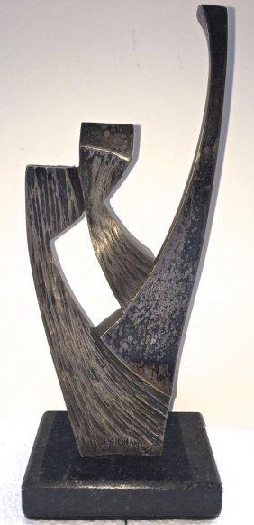 "Baruch Shoham Abstract Sculpture ""shadai"""