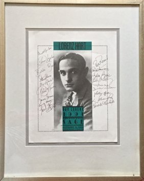 Hollywood And Broadway Stars, 18 Autographs