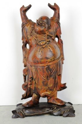 Scented Wood Carving Of The 19th Century
