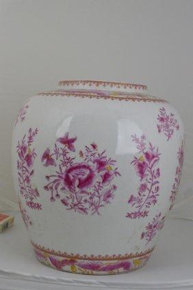 Chinese Ding Klin Porcelain Jar