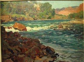 FRANK TENNEY JOHNSON OIL SHOSHONE RIVER