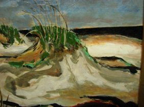 DONALD STANLEY VOGEL Sand Dune Painting