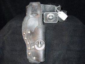 1978 LONE RANGER BELT AND HOLSTER