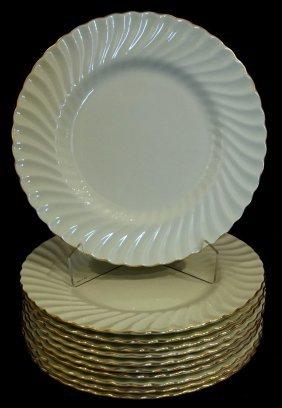 11 Minton Service Plates