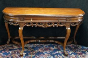 Chippendale Style Foldover Live-dine Table