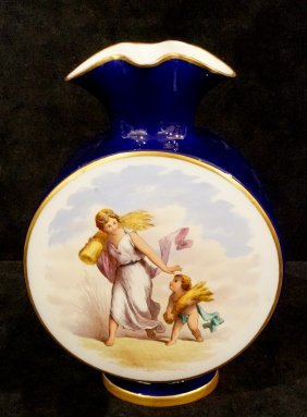 Continental Porcelain Flair Vase