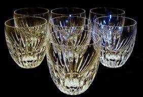 6 Baccarat Glasses