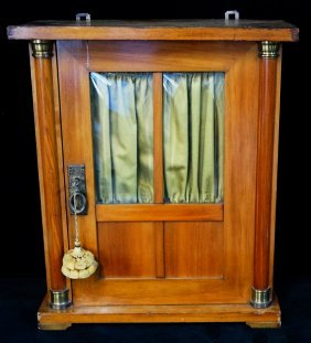 Antique Miniature Cabinet