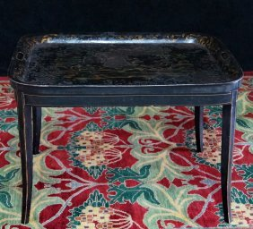 Tole Tray Top Table