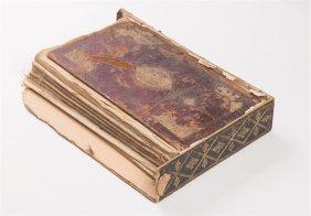 19th Century Islamic Manuscript Quran Book With Case