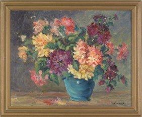 Fern Cunningham (American, 1889-1975), Oil On Can