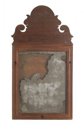 American Queen Anne Mahogany Mirror, Ca. 1770,