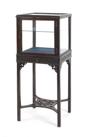 George III Mahogany Display Stand, Ca. 1770, Wi