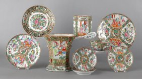 Group Of Chinese Export Famille Rose Porcelain.