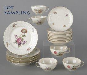 Ninety-nine Piece Set Of Royal Copenhagen Porcela